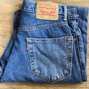 30 34 x/ Levi's 505 Denim Jeans Men's